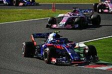 Formel 1, Gasly genervt: Taktik kostet Toro Rosso Top-Ergebnis