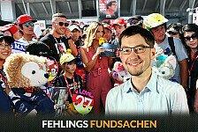 Formel 1, Fehlings Fundsachen: Poldi-Mania beim Japan GP