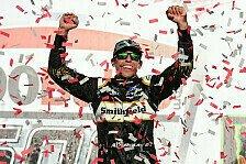 NASCAR Talladega: Aric Almirola gewinnt in der Verlängerung