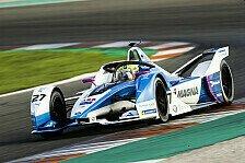 Formel-E-Testfahrten Valencia: BMW legt mit Bestzeit los