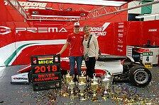 Berger über Mick Schumacher: Familie hat tollen Job gemacht