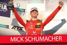 Mick Schumacher: Macau-Start 2018 fix nach Formel-3-Titelgewinn