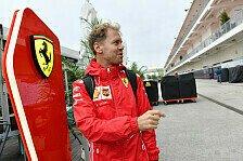 Vettel-Klartext vor Austin: Zu wenig Speed, zu viele Fehler!