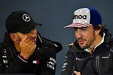 Alonso über Hamilton: Einer der besten F1-Fahrer aller Zeiten
