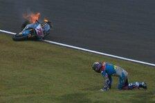 Alex Marquez: Schlimmer Crash in Motegi