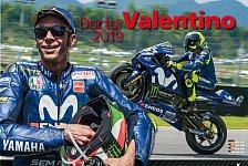 MotoGP-Kalender von Valentino Rossi für 2019 jetzt bestellbar