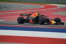 Formel 1, USA: Red Bull warnte Ricciardo vor Verstappen-Fehler
