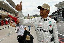 Formel 1, USA: Hamilton lässt Ferraris Pace auf Supersoft kalt