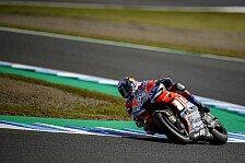 MotoGP Motegi 2018: Andrea Dovizioso diktiert Pace im Warm Up
