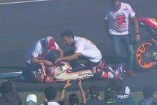 Marc Marquez: Verletzung bei WM-Feier in Motegi