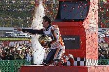 MotoGP Motegi 2018: So feiert Marc Marquez den Titel