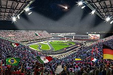 Race of Champions 2019 in Mexiko: Stadion der Formel-1-Strecke