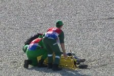 Cal Crutchlow: Knöchel-Bruch nach Crash, OP notwendig