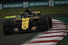 Hülkenberg in Mexiko auf Hypersoft: Renault steht lieber vorne