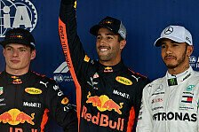 Formel 1 Favoriten-Check: Crasht Red Bull Hamiltons WM-Party?