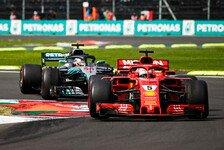 Rennanalyse Mexiko: Wie Vettel Hamilton eine Minute aufbrummte