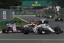 Formel 1: Sauber opfert Ericsson für Leclerc - trotzdem Punkte