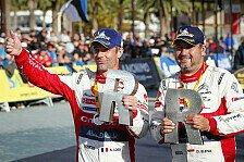 WRC Rallye Spanien 2018: Alle Fotos vom 12. WM-Rennen