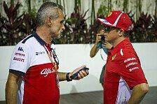 Formel 1, Kimi Räikkönen: Erster Sauber-Test in Abu Dhabi