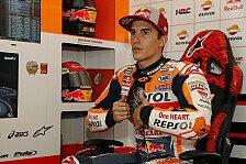MotoGP Valencia 2018: Marquez holt erste Bestzeit im Regen