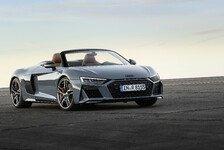 Audi verpasst dem Flaggschiff R8 ein Facelift