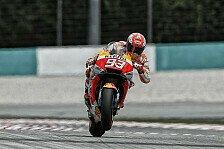 MotoGP Sepang 2018: Marquez siegt nach Sturz von Rossi