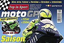 MotoGP - Top in Sport MotoGP: Sonderheft lesen und eine Kawasaki Ninja gewinnen