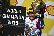 Weltmeister Jorge Martin bei Moto2-Test verletzt