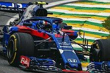 Formel 1: Sauber zu stark? Toro Rosso setzt auf Honda-Boost