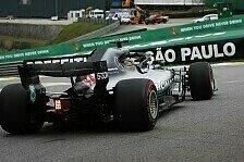 Formel 1 Brasilien: Pirelli nominiert harte Reifenmischungen