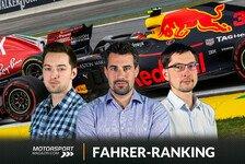 Formel-1-Fahrerranking: Max Verstappen brilliert in Brasilien