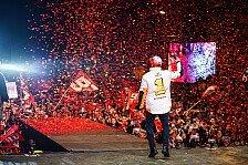 MotoGP: Die Weltmeisterfeier von Marc Marquez 2018 in Cervera