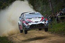 WRC Australien 2018: Titelkandidat Tänak führt vor Finaltag