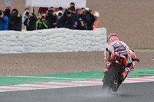 MotoGP Valencia 2018: Marquez dominiert viertes Training