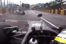 Formel 3 EM - Video: Macau-Unfall: Joel Eriksson crasht im Formel-3-Qualifying