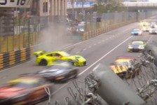 Mehr Sportwagen - Video: Macau 2018, Unfall-Video: Porsche beim GT World Cup zerstört
