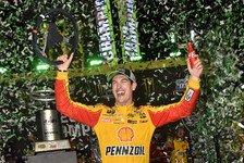 NASCAR Homestead: Joey Logano ist zum ersten Mal Champion