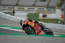 MotoGP Test Valencia - Johann Zarco vergleicht KTM und Yamaha