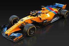 Formel 1, McLaren ehrt Alonso: Speziallackierung zum Abschied