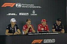 Formel 1 2018: Abu Dhabi GP - Donnerstag