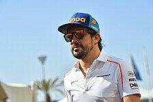 Formel 1, Alonso zurück im McLaren: Bahrain-Testfahrten fix
