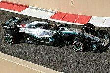Formel 1, Mercedes-Felge zurück: Ohne Angst vor Ferrari-Protest