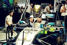 Verwirrung um Hamilton-Startnummer: Plötzlich #1 auf dem Auto