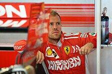 Formel 1, Vettel nach schwieriger Saison: Brauche Abstand
