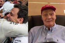 Niki Lauda: Videobotschaft nach Lungentransplantation