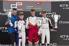 GP3 Abu Dhabi 2018: Vierter Podestplatz für David Beckmann