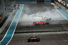 Formel 1 2018: Abu Dhabi GP - Rennen