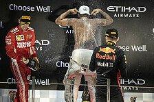 Formel 1 2018: Abu Dhabi GP - Podium