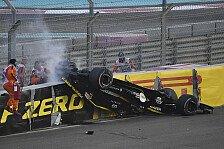 Formel 1 2018: Abu Dhabi GP - Heftiger Crash von Hülkenberg