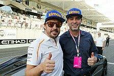 Formel 1 vs. NASCAR: Alonso und Johnson über Showrun in Bahrain